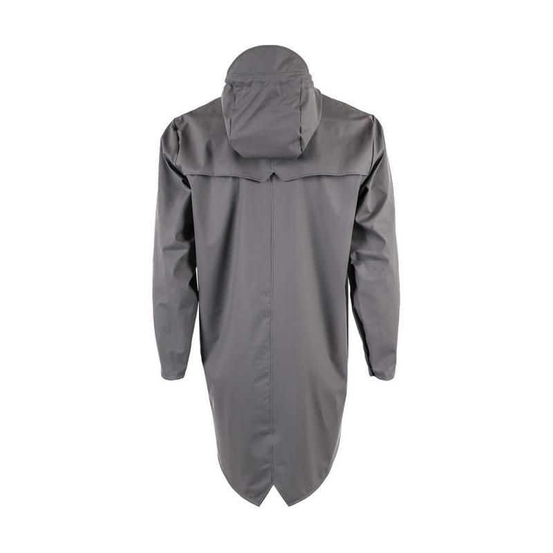 Rains regnjakke, lang, smoke grå - størrelse - xxs/xs fra rains regntøj på superlove