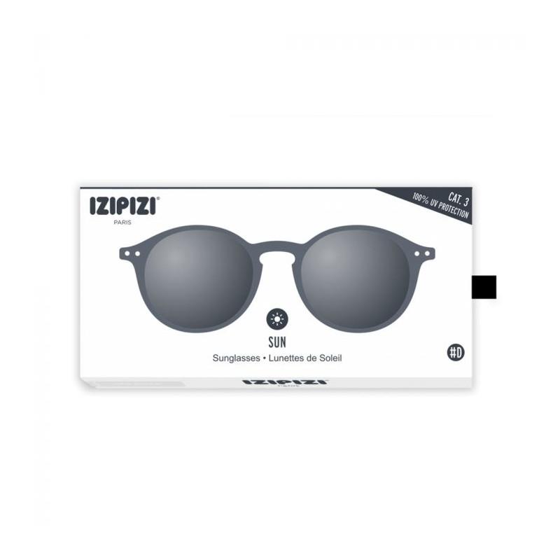 izipizi – Izipizi solbriller, d sun, grå - størrelse - +0 på superlove