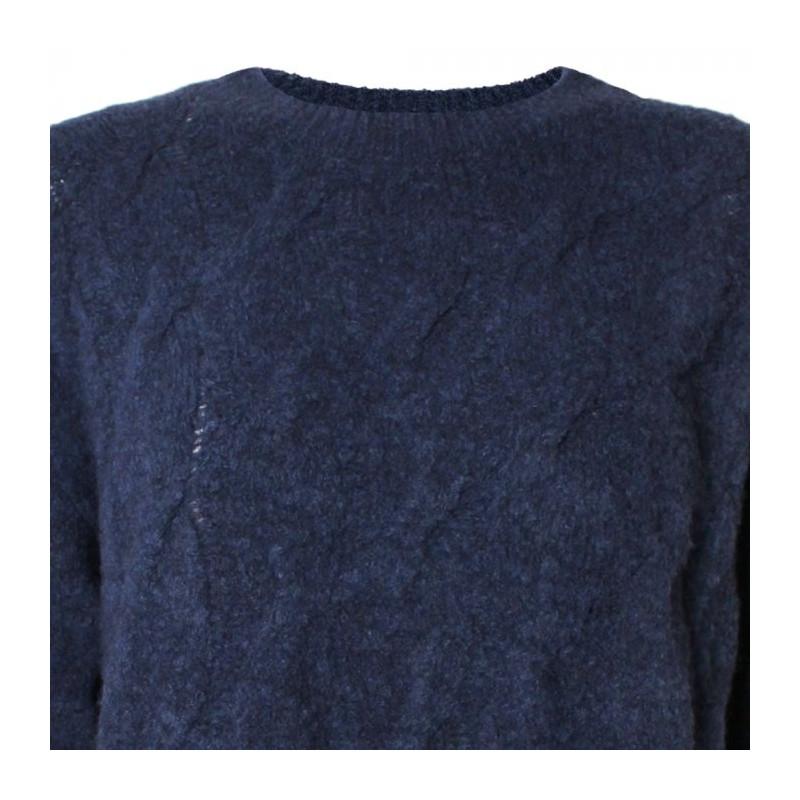stig p Stig p sweater, ani, blå - størrelse - m fra superlove