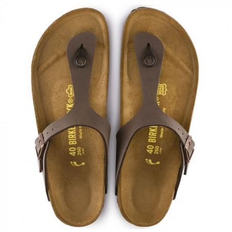 Birkenstock Gizeh sandaler i Mokka