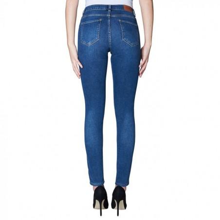 2nd ONE Jeans, Nicole 893, Indigo Flex bagside
