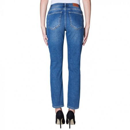 2nd ONE Jeans, Noora 109, Ocean Blue bagside