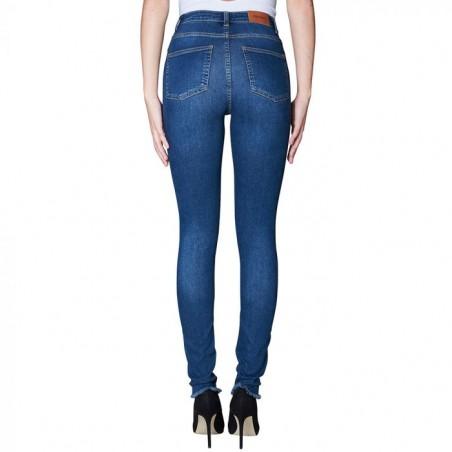 2nd ONE Jeans, Amy 893, Raw Indigo bagside