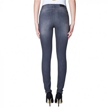 2nd ONE Jeans, Nicole 861, Grey Flex bagside