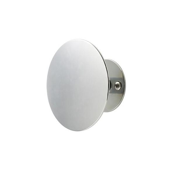 Superliving, Uno Knage 9 cm, Sølv Chrome