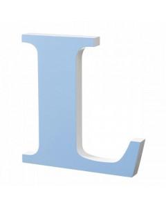Superliving, Bogstav L 40cm, Light Blue