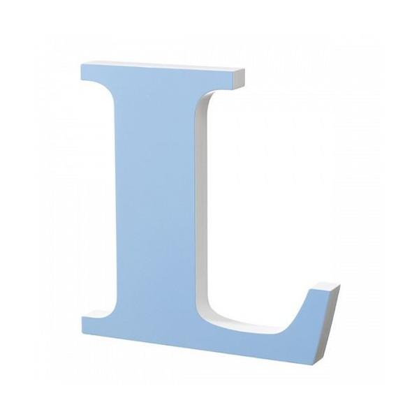 Image of   Superliving, Bogstav L 40cm, Light Blue