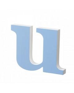 Superliving, Bogstav u 20cm, Light Blue