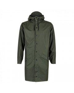 Rains, Lang Regnjakke, Grøn