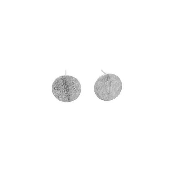 pernille corydon Pernille corydon øreringe, medium coin, sølv fra superlove