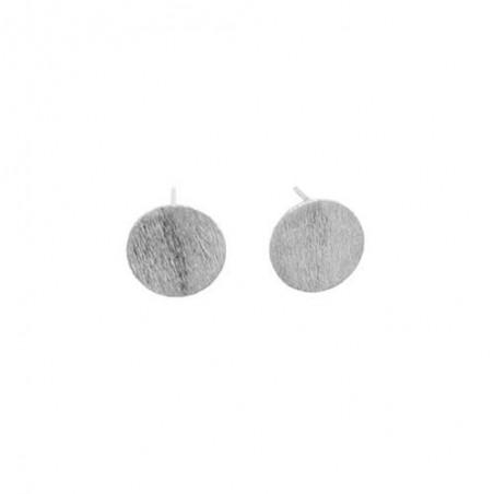 Pernille Corydon Øreringe, Medium Coin, Sølv