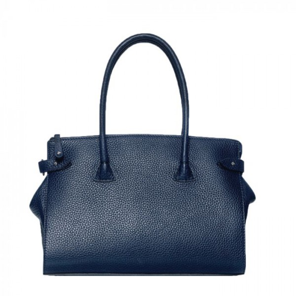 Image of   Decadent Taske, Scarlet Small Shopper, Navy