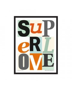 Superlove, Mini Plakat Superlove, Multi