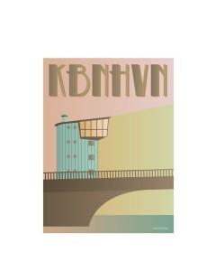 Vissevasse, Plakat 30x40cm KBHHVN, Langebro