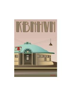 Vissevasse, Plakat 30x40cm KBHHVN, Trianglen