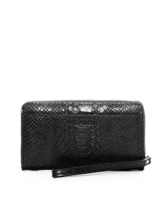 Decadent Pung, Erin Zip Wallet, Anaconda Black