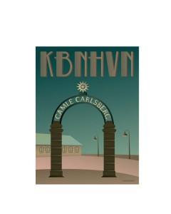 Vissevasse, Plakat 30x40cm, KBHHVN, Stjerneporten