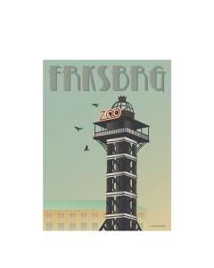 Vissevasse, Plakat 30x40 cm, FRKSBRG, Zootårnet