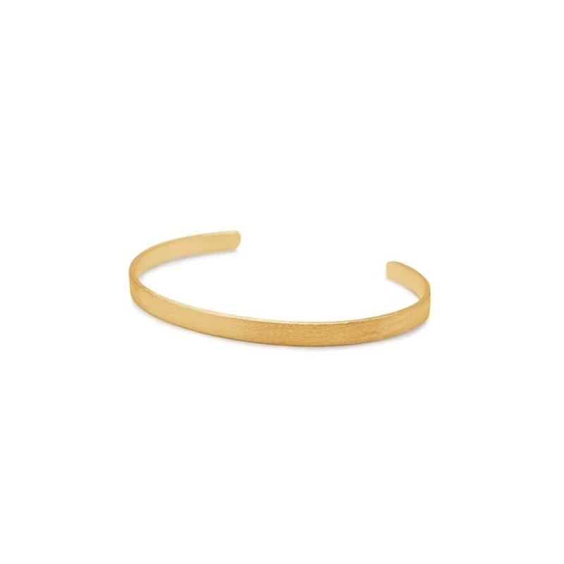 Pernille corydon, wide alliance armbånd, guld fra pernille corydon på superlove