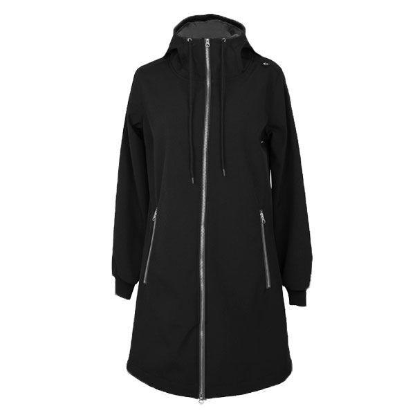 danefæ Danefæ, jane softshell jakke, sort/sort - størrelse - l på superlove