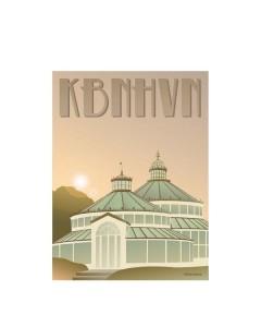 Vissevasse, Plakat 30x40cm. KBHHVN, Botanisk Have