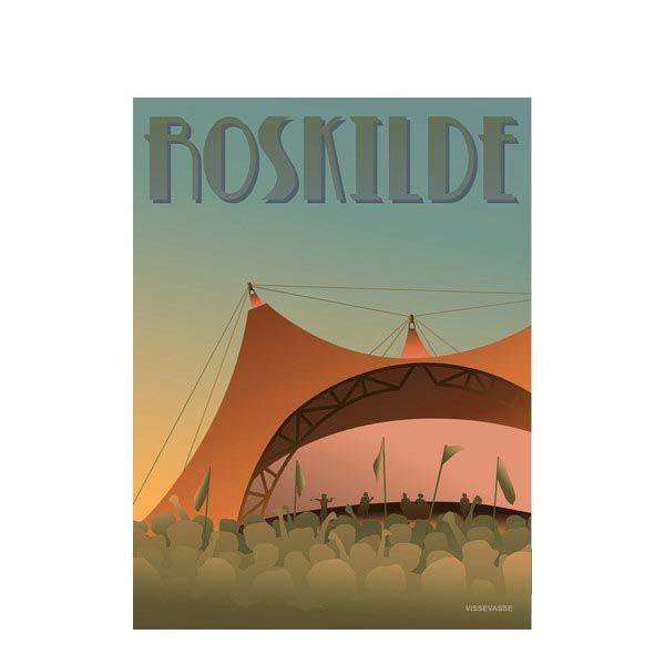 vissevasse – Vissevasse, plakat 30x40cm, roskilde festivalen på superlove