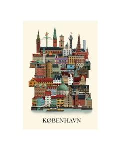 Martin Schwartz Plakat, Stor København