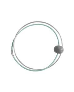 Pendulum Armbånd, Ceramic, Sølv/Mint/Grå