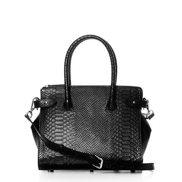 Decadent, grace x-small shopper, anaconda black fra decadent fra superlove