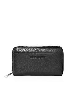 Decadent, Pung, Medium Zip Wallet, Black