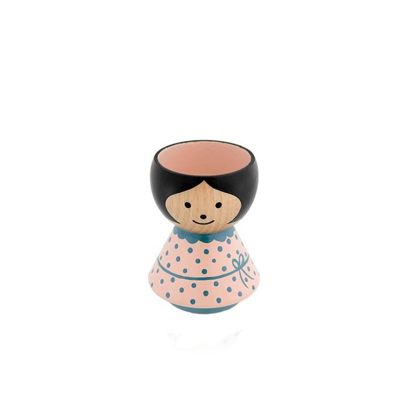 Lucie kaas, bordfolk pige i rosa/blå kjole fra lucie kaas fra superlove