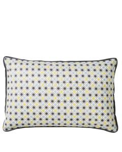 Superliving, Aflang Mosaic Print Pude, Acacia/Blue