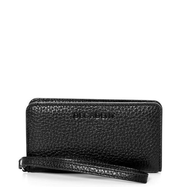 decadent – Decadent pung, mobile wallet, black på superlove