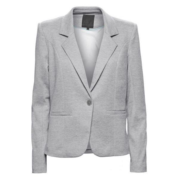 Minus blazer, carmen sølvgrå - størrelse - 44 fra minus fra superlove