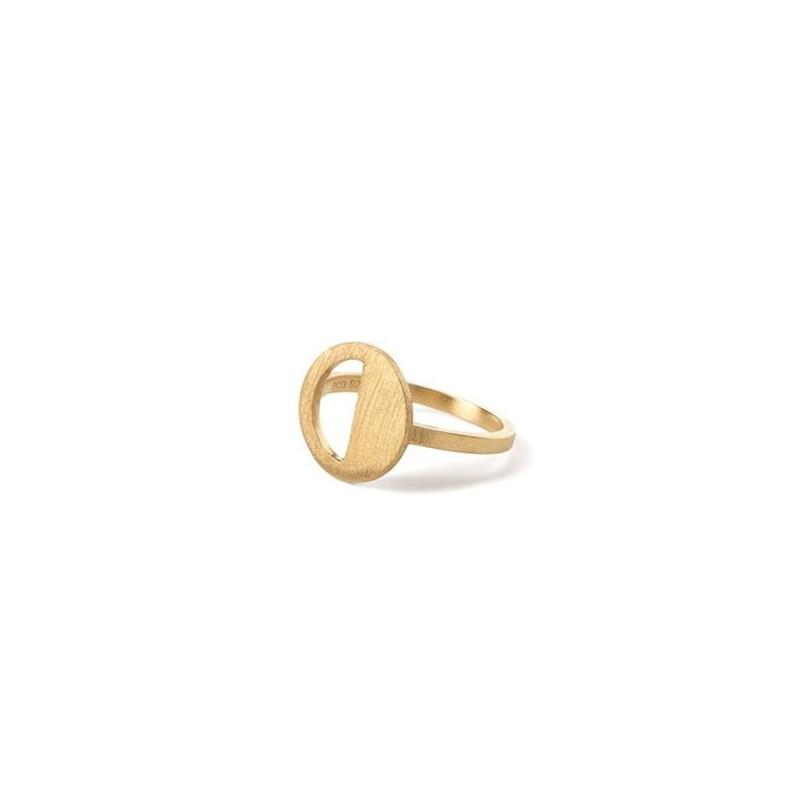 Pernille corydon ring, divided, guld - størrelse - 57 fra pernille corydon fra superlove