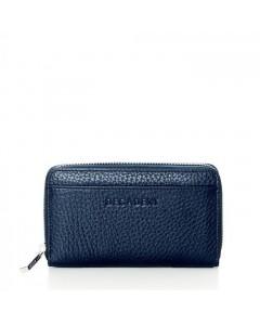 Decadent Pung, Medium Zip Wallet, Navy