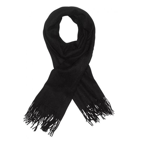 modström Modström halstørklæde, mirror, sort på superlove