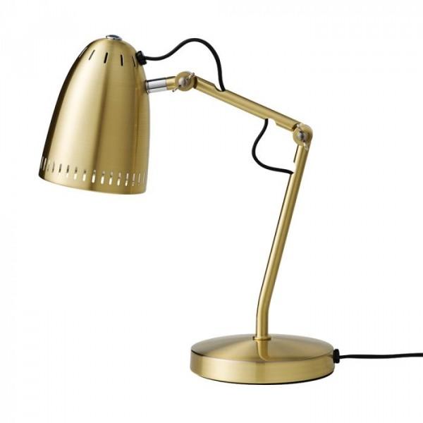 Superliving bordlampe, dynamo 345, brushed brass fra superliving på superlove