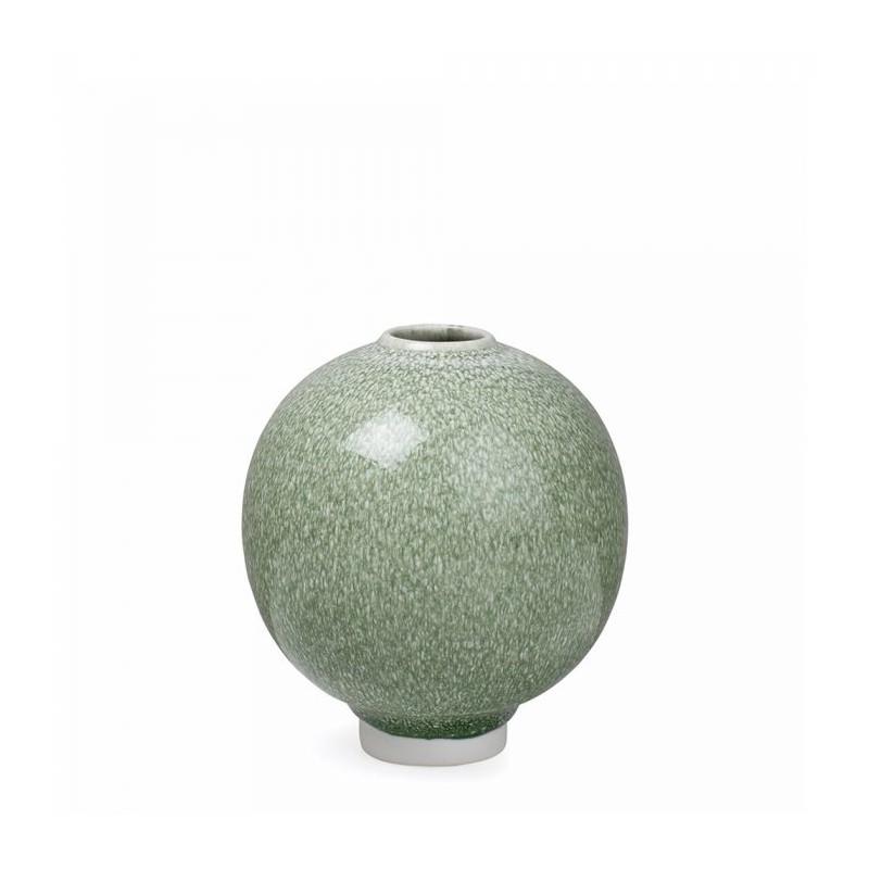 Kähler vase, unico, mossgrøn fra kähler fra superlove