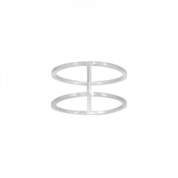 zöl Zöl ring, twirl, sølv - størrelse - 52 på superlove