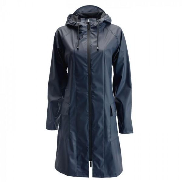 Rains regnjakke, a-jacket, blå - størrelse - l/xl fra rains regntøj på superlove