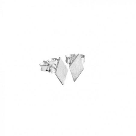 Scherning Øreringe, Diamond, Sølv