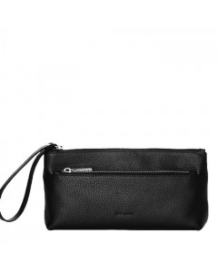Decadent, Make Up Purse w/Zipper, Black
