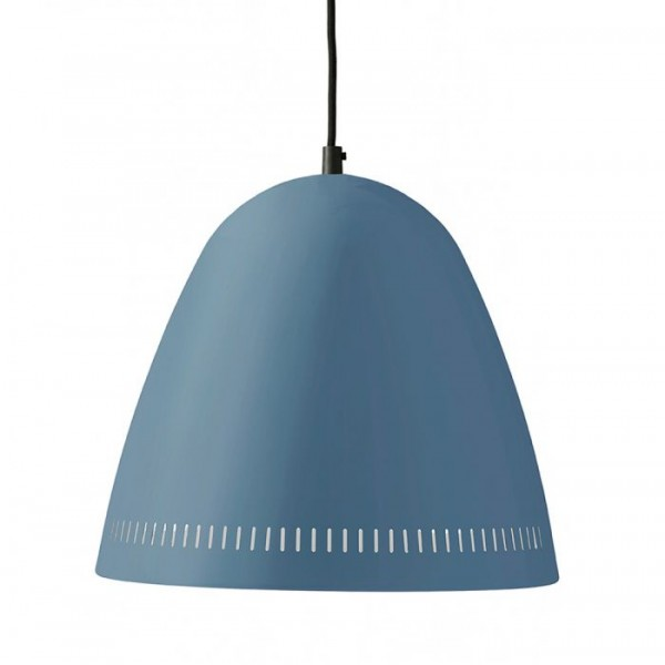 Superliving lampe, big dynamo mat, smoke blue fra superliving fra superlove