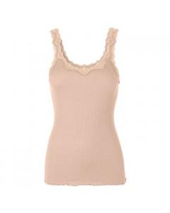 Rosemunde Silketop m/blonde 5357, Pink Marble
