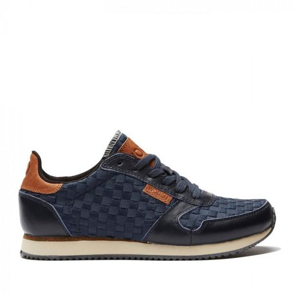 Woden Sneakers, Ydun Flet, Navy