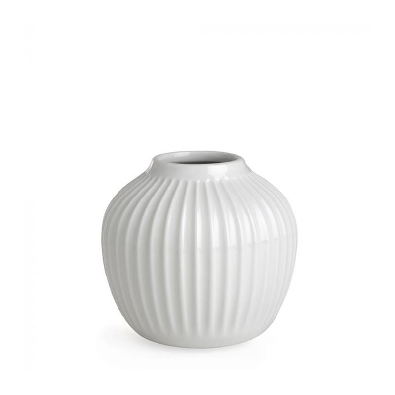Kähler vase, hammershøi h125, hvid fra kähler på superlove
