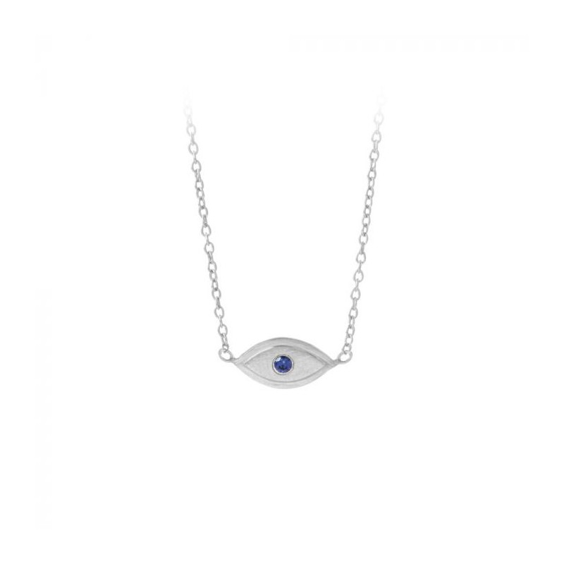 pernille corydon – Pernille corydon halskæde, lucky eye, sølv på superlove