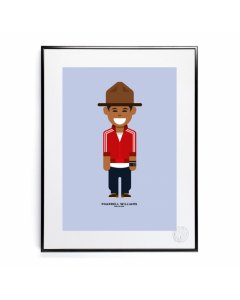 Image Republic Plakat 30 x 40, Le Duo, Pharrell