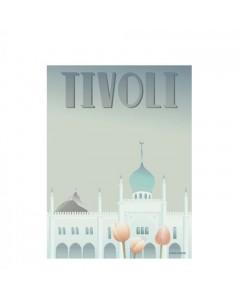 Vissevasse Plakat 30x40 cm, Tivoli Nimb